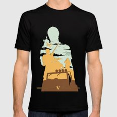 GTA V - TREVOR PHILIPS SMALL Mens Fitted Tee Black