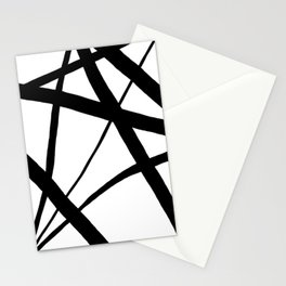 A Harmony of Lines and Shapes Stationery Cards