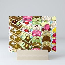 Cakes Cakes Cakes! Mini Art Print
