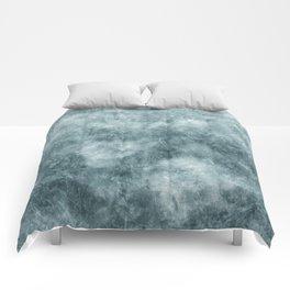 Blue thistle Comforters