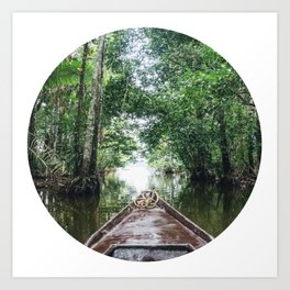 Into The Amazon Rainforest Fine Art Print Art Print