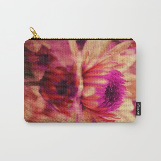 Vintage asters. Carry-All Pouch