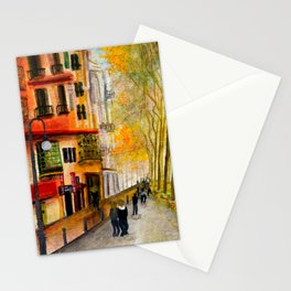 Streets of Majorca Stationery Cards