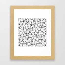 All I Want To Do Is Volleyball Framed Art Print