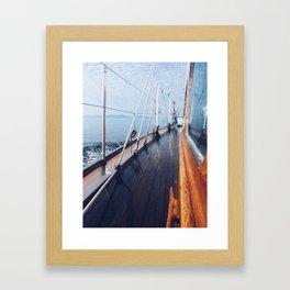Haro Strait Framed Art Print
