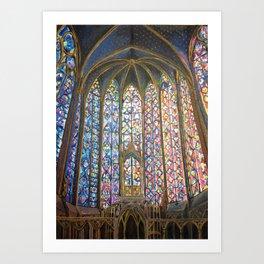 Sainte Chapelle Art Print