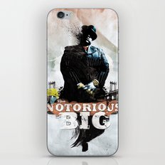 Notorious B.I.G iPhone & iPod Skin