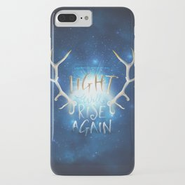 Light Will Rise Again iPhone Case