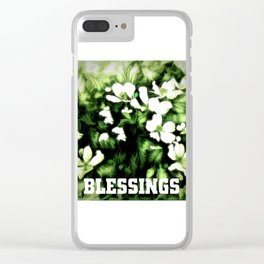 Blessings Clear iPhone Case