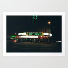 uptown MPLS Art Print