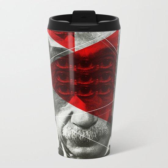 Albert E Mix 1c Metal Travel Mug