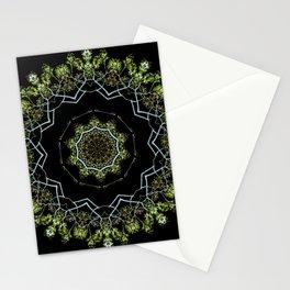 Neon Tree Mandala 2 Stationery Cards