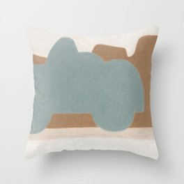 Deep in Moab Throw Pillow