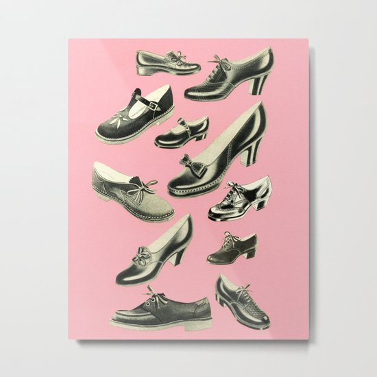 Shoe Fetish Metal Print