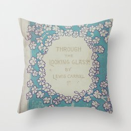 Vintage Alice Throw Pillow