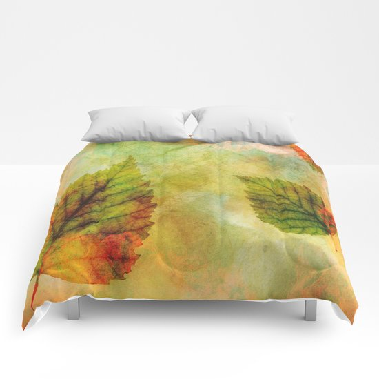 Colourful Leaves Comforters