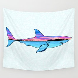 Channel Islands Great White Wall Tapestry