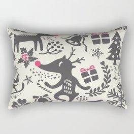 Winter Pattern IX Rectangular Pillow