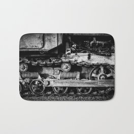 Vintage Caterpillar Tracks Bath Mat