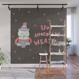 Hot Chocolate Weather Wall Mural