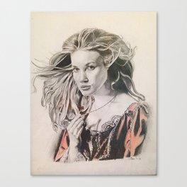 Swann - Pirates throwback portrait Canvas Print