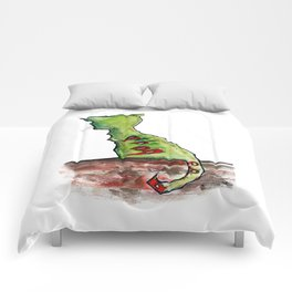 Reflective Zombie Cat Comforters