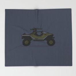 Halo Warthog Throw Blanket