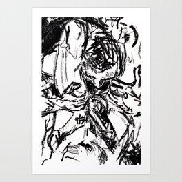 attack | lust Art Print