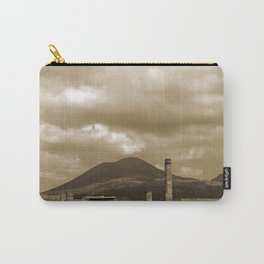 Mount Vesuvius looking down on Pompeii Carry-All Pouch