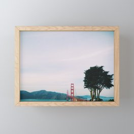 Golden Gate, San Francisco Framed Mini Art Print