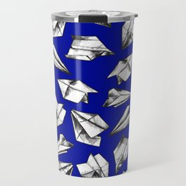Paper airplane pattern Travel Mug