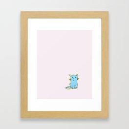Miao Cat Framed Art Print