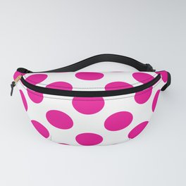 Pink Large Polka Dots Pattern Fanny Pack