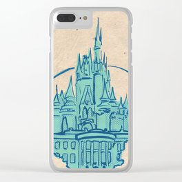 Magic Kingdom Clear iPhone Case
