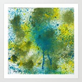 Splatter #2 Art Print