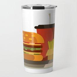 Cheeseburger Meal Travel Mug