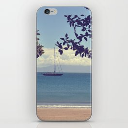 Going Sailing iPhone Skin