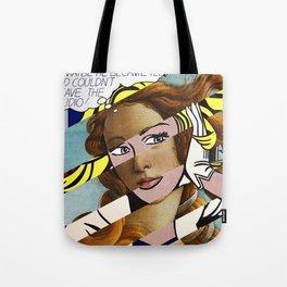 Botticelli's Venus & Lichtenstein's M...Maybe. Tote Bag