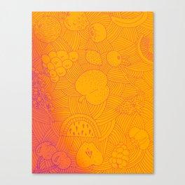 Fruit Sunset Canvas Print