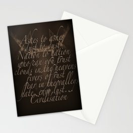 Civilisation: Ashes To Ashes Stationery Cards