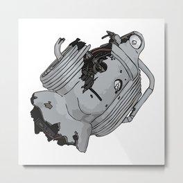 cyberman Metal Print