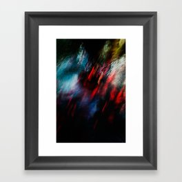 Abstract goldfish_02 Framed Art Print