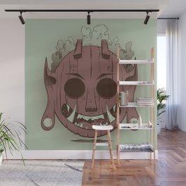 Wooden Djinn Wall Mural