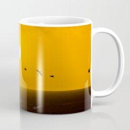 Sunset at Half Moon Bay Coffee Mug