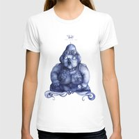fat T-shirts featuring Fat Lady by Anna Cannuzz