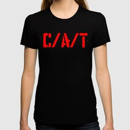 C/A/T RED T-shirt