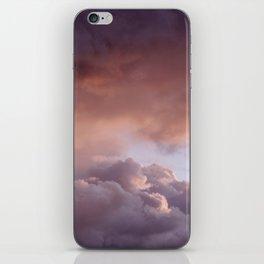 Clouded romance iPhone Skin