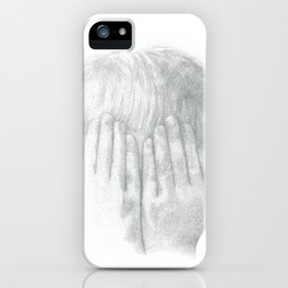 You Can't See Me iPhone Case