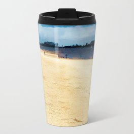 Walk on the riverside Travel Mug