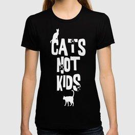 Cats Not Kids 2 T-shirt